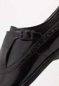 HUGO - MIDTOWN - Elegantní nazouvací boty - black - 5