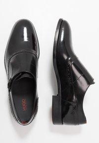 HUGO - MIDTOWN - Elegantní nazouvací boty - black - 1