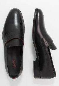 HUGO - MIDTOWN - Business loafers - black - 1