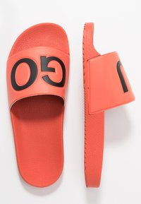 HUGO - TIMEOUT SLIP - Pantofle - bright orange - 1
