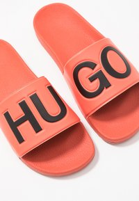 HUGO - TIMEOUT SLIP - Pantofle - bright orange - 5