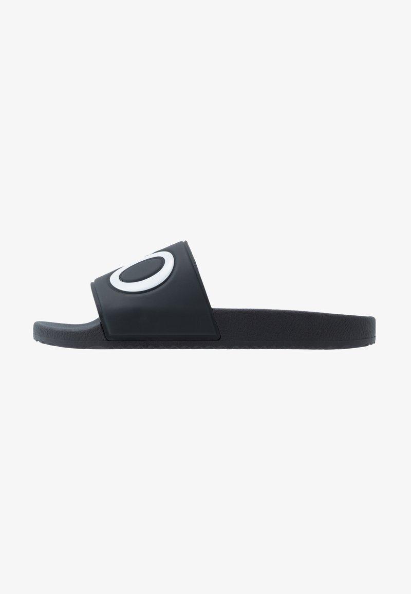 HUGO - TIMEOUT SLIP - Sandalias planas - dark blue