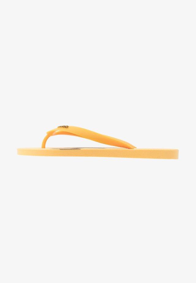 ONFIRE - Varvassandaalit - open yellow
