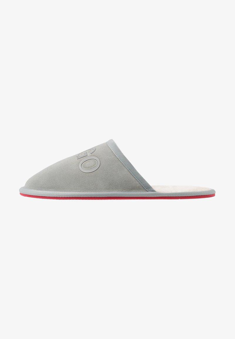 HUGO - COZY SLIP - Slippers - light/pastel grey