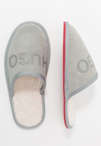 HUGO - COZY SLIP - Slippers - light/pastel grey - 1