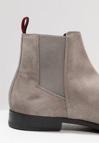 HUGO - BOHEME - Classic ankle boots - light/pastel grey - 5