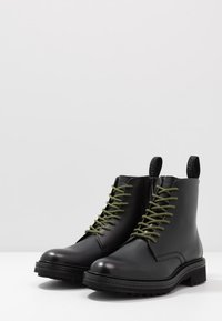 HUGO - IMPACT HALB - Lace-up ankle boots - black - 2