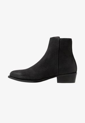 PRESTIGE - Cowboy/biker ankle boot - black
