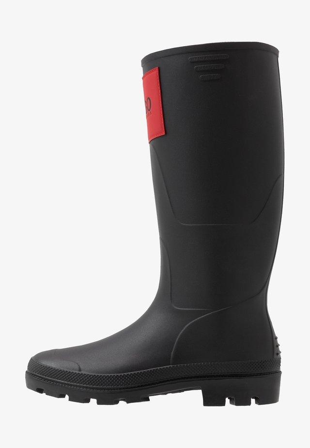 RAIN BOOT - Gummistövlar - black