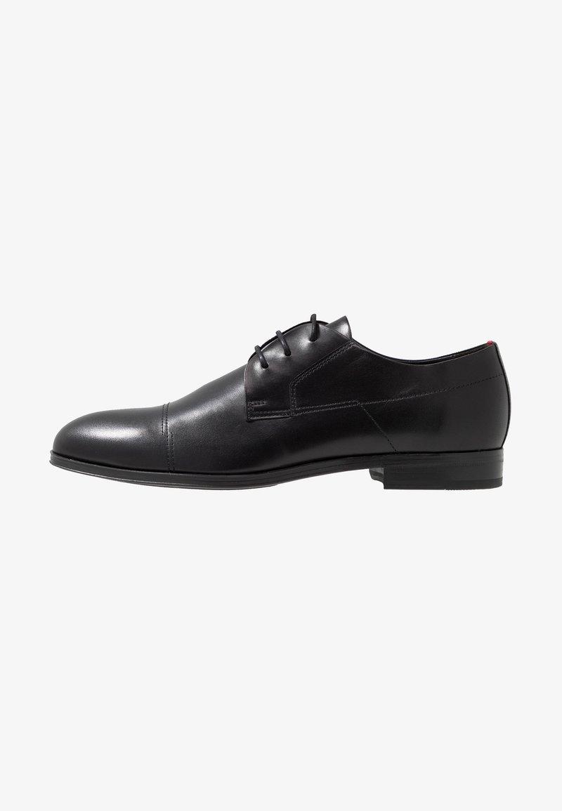 HUGO - Šněrovací boty - black