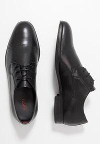 HUGO - Šněrovací boty - black - 1