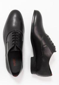 HUGO - BOHEME - Elegantní šněrovací boty - black - 1