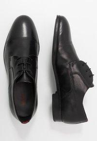 HUGO - BOHEME - Business sko - black - 1