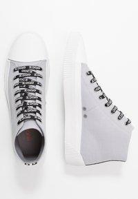 HUGO - HITO - Zapatillas altas - medium grey - 1