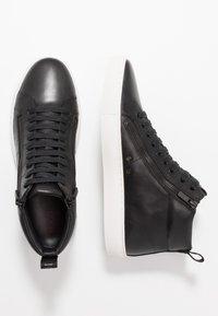 HUGO - FUTURISM HITO - Zapatillas altas - black - 1