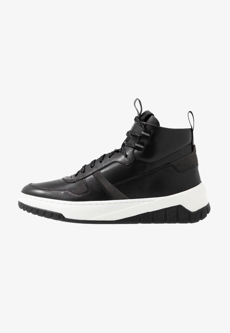HUGO - MADISON HITO - Baskets montantes - black