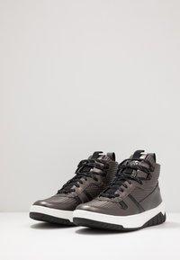 HUGO - MADISON - Sneakersy wysokie - dark grey - 2