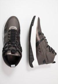 HUGO - MADISON - Sneakersy wysokie - dark grey - 1