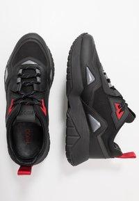 HUGO - ATOM RUNN - Sneaker low - black - 1