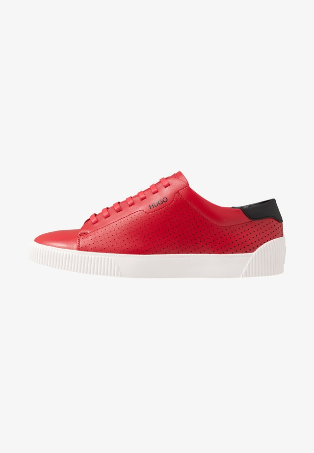 Sneakers - dark red