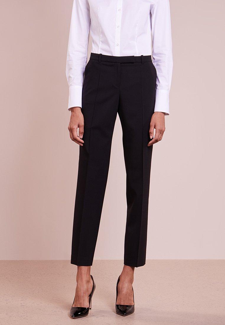 HUGO - HARILE - Spodnie materiałowe - black