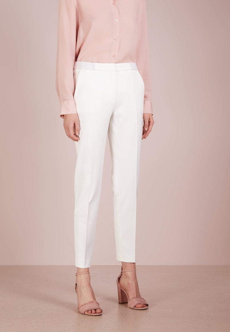 HUGO - HEFENA - Trousers - natural