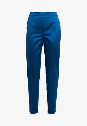 HERENI - Trousers - open blue