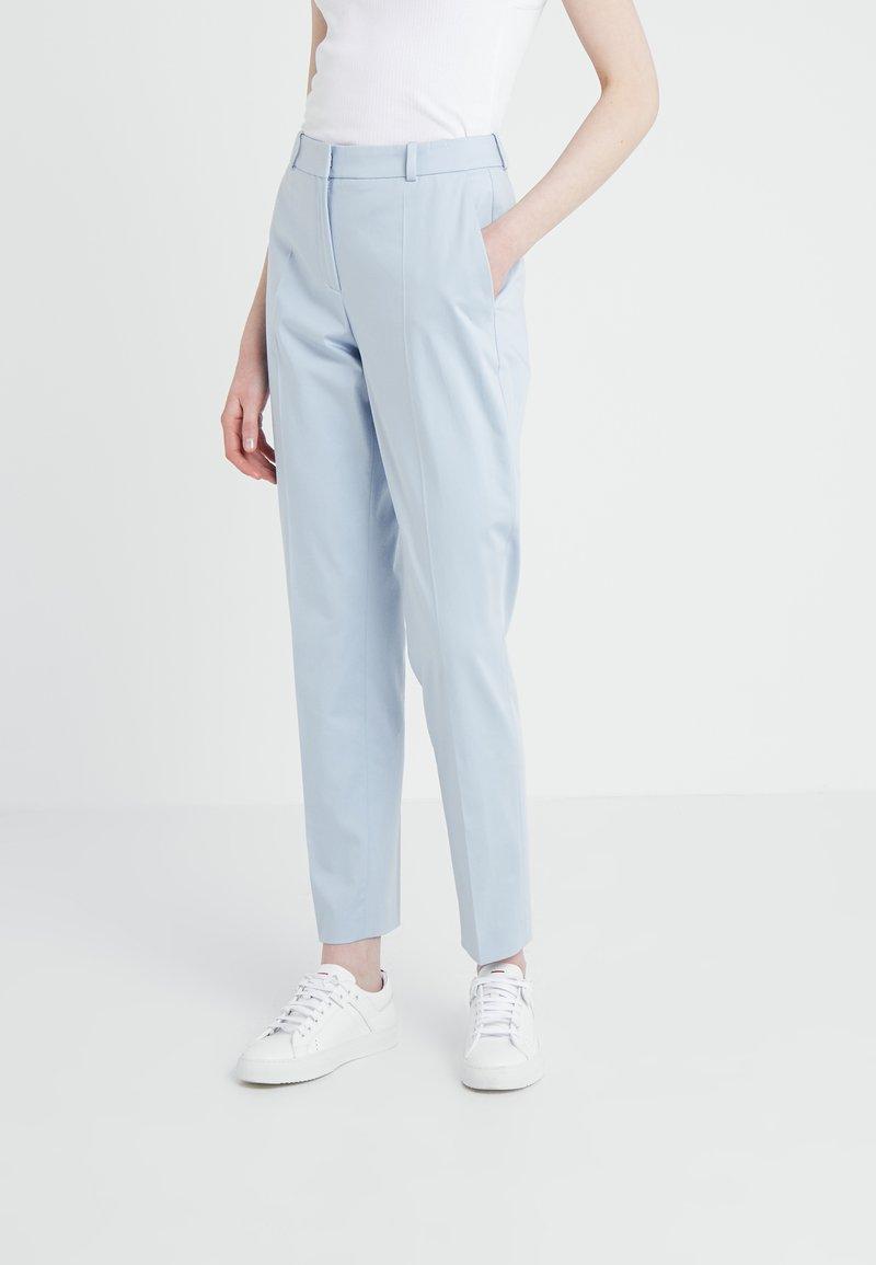 HUGO - HERILA - Trousers - open blue