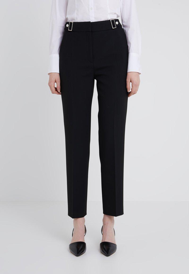 HUGO - HENASI - Trousers - black