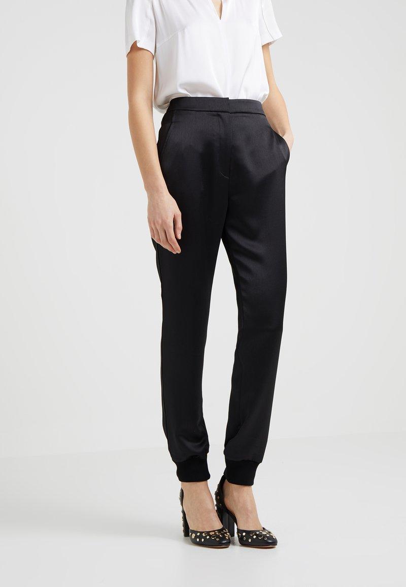 HUGO - HERMESA - Trousers - black