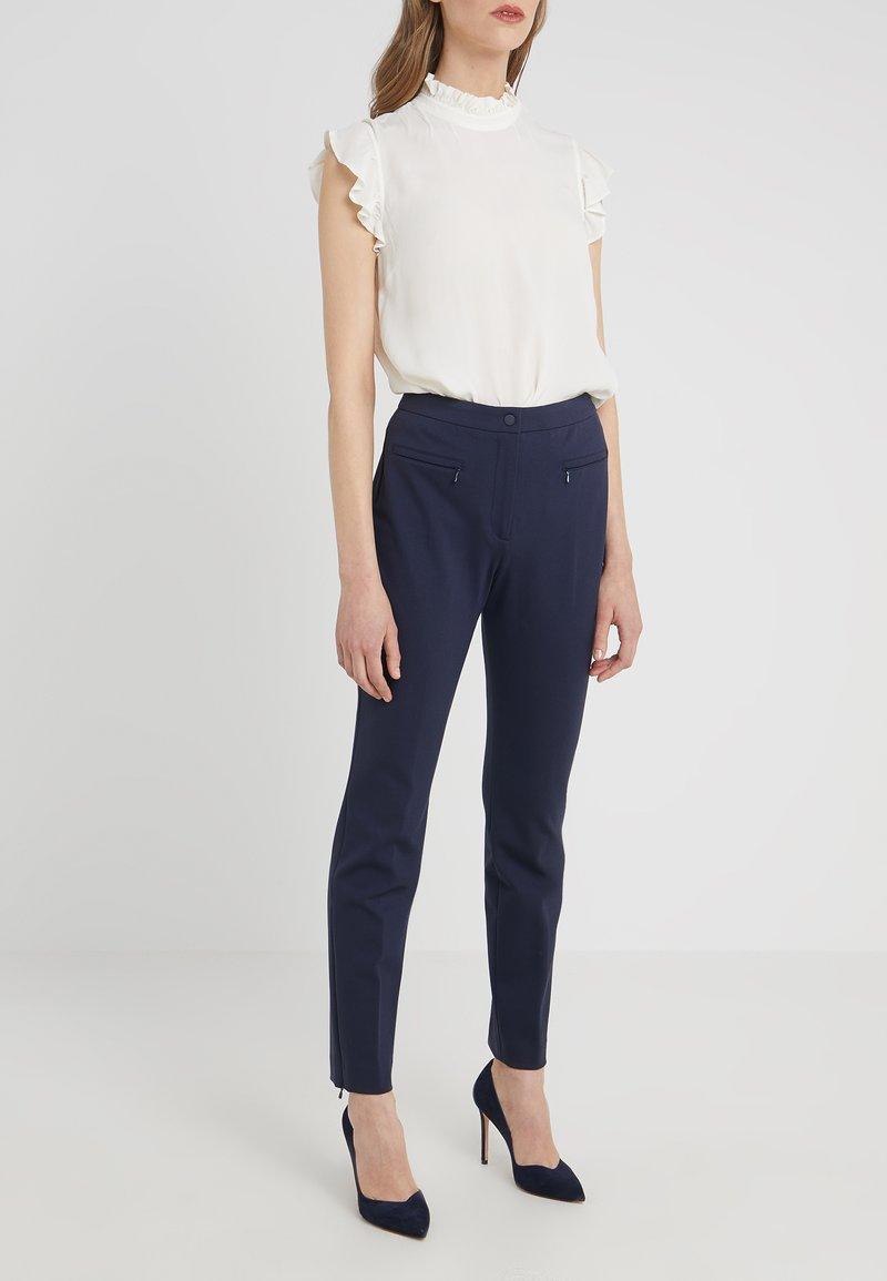 HUGO - HINELA - Trousers - open blue