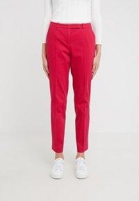HUGO - HARILE - Spodnie materiałowe - open red - 0