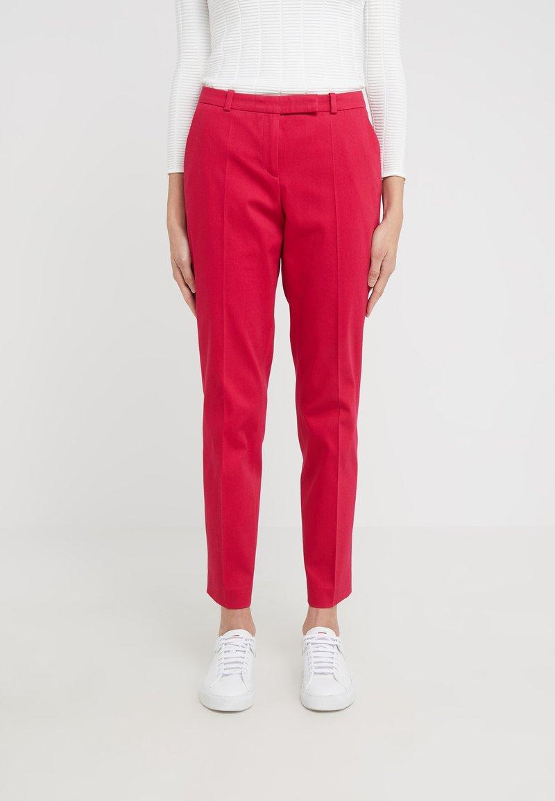 HUGO - HARILE - Spodnie materiałowe - open red