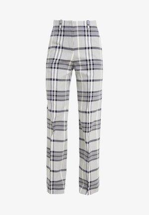 HULANA - Pantalones - dark blue/white