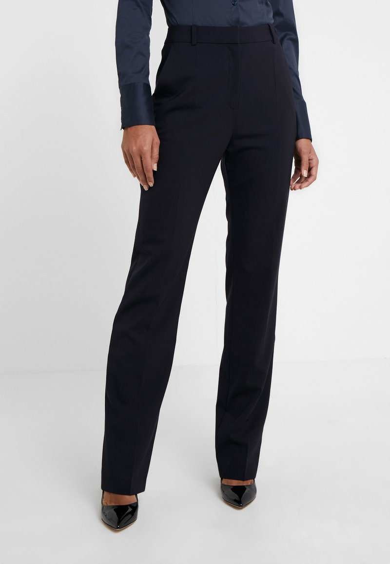 HUGO - THE REGULAR TROUSERS - Trousers - navy