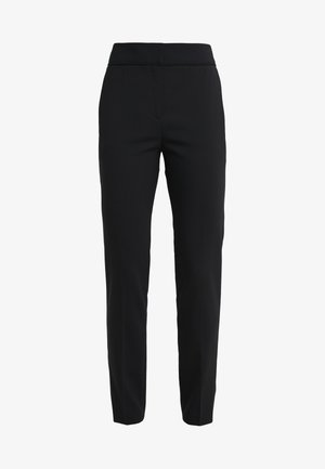 THE CROPPED TROUSER - Broek - black