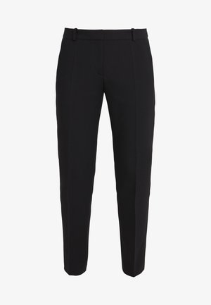 THE SLIM TROUSERS - Pantalon classique - black/white