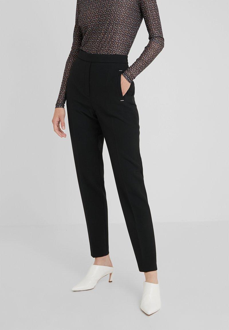 HUGO - HANETTE - Kalhoty - black