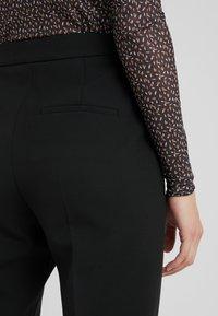 HUGO - HANETTE - Kalhoty - black - 3