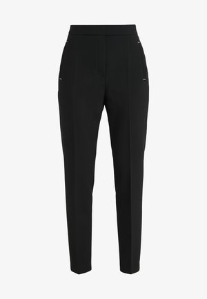 HANETTE - Trousers - black