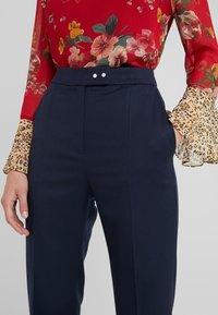 HUGO - HELINES - Trousers - dark blue - 5