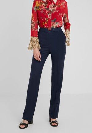 HELINES - Spodnie materiałowe - dark blue