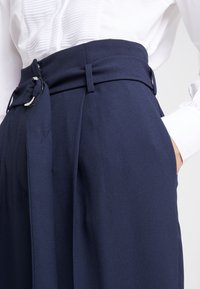 HUGO - HOSALIA - Kalhoty - dark blue - 5