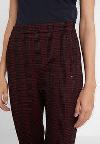 HUGO - HANETTE - Spodnie materiałowe - open red - 4