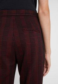 HUGO - HANETTE - Spodnie materiałowe - open red - 6