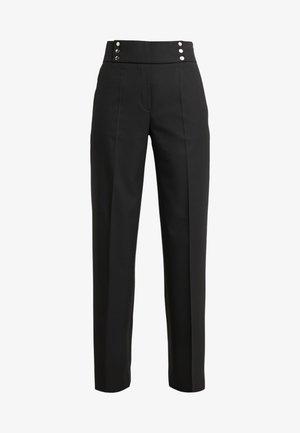 HADINA - Pantaloni - black