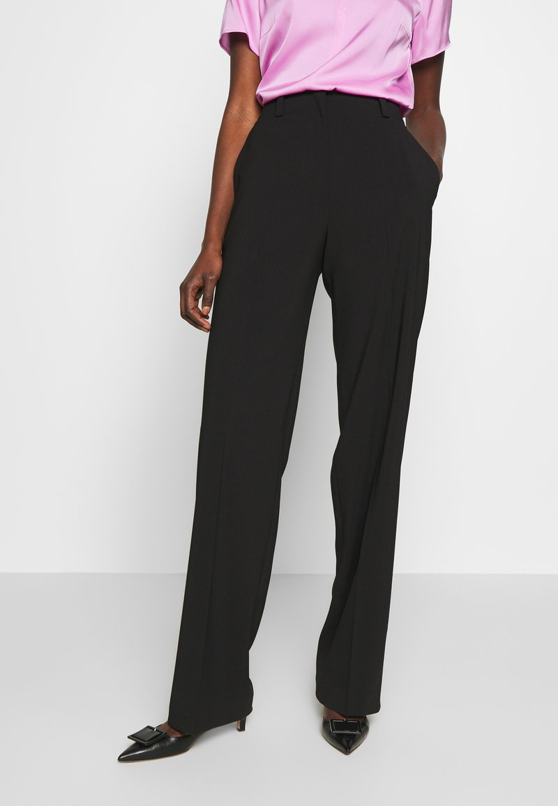 HUGO - HULANA - Trousers - black