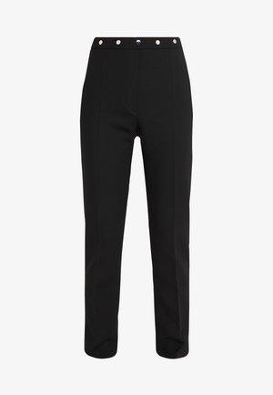 HIEGA - Pantalones - black