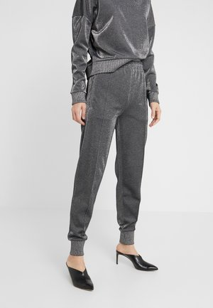 NALEI - Tracksuit bottoms - metallic grey