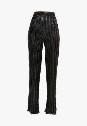 HEPLISSA - Kalhoty - black